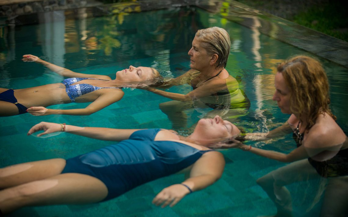 Aquahealing a dotekova terapie