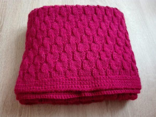 Baby deka pro Terezku návod na ruční pletení.