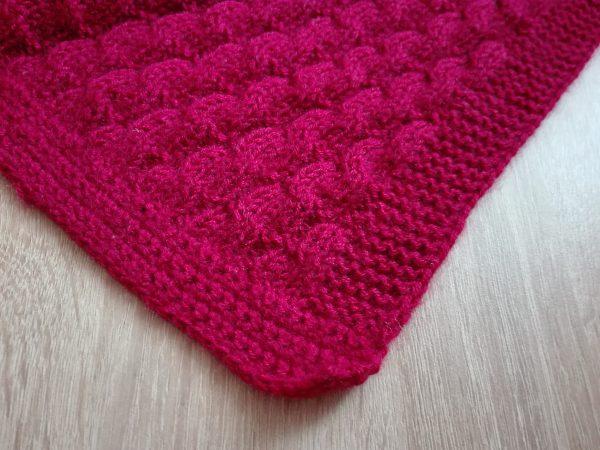 Baby deka pro Terezku návod na ruční pletení - 4