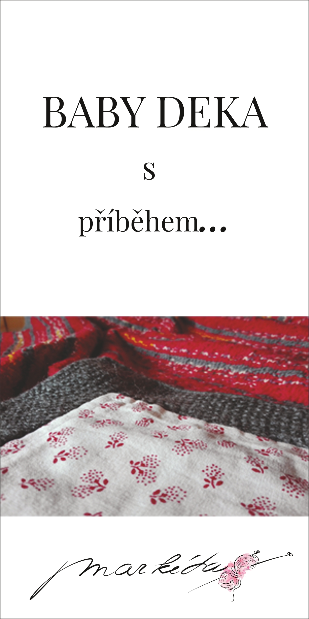 Návod na pletení baby deka.