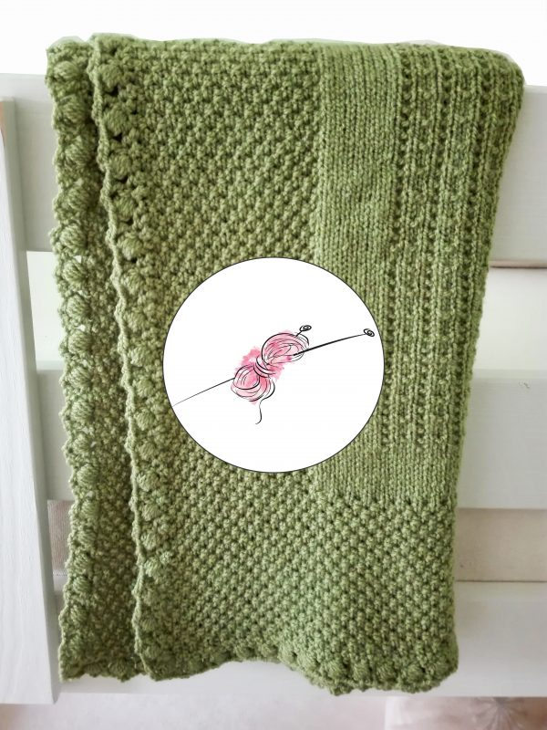 Návod na ručně pletenou baby deku pro Jiříka.